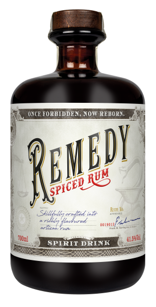 Remedy Spiced Rum (Rum-Basis) 41,5% 0,7L