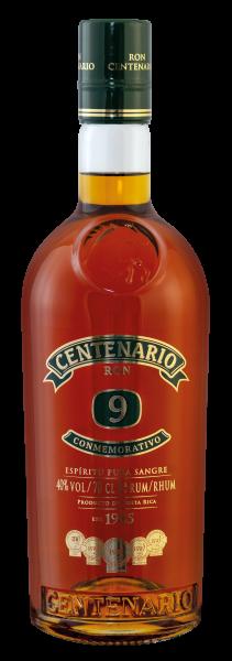 Ron Centenario 9 Jahre Conmemorativo 40% 0,7L