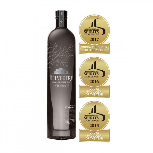 Belvedere Smogory Forest 40% 0,7l