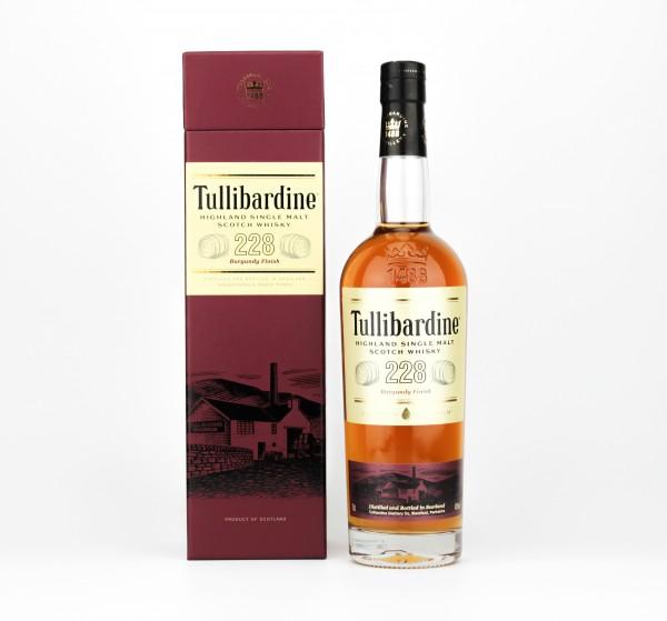 Tullibardine Burgundy Finish Highland Single Malt Scotch Whisky 43% 0,7l