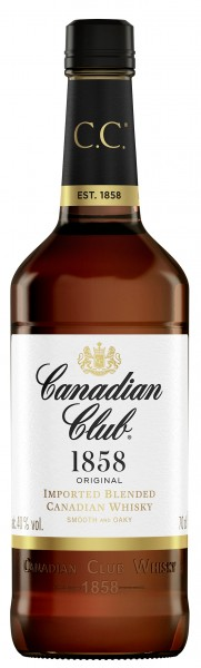 CANADIAN CLUB 6 JAHRE CANADIAN WHISKY 40% 0,7L
