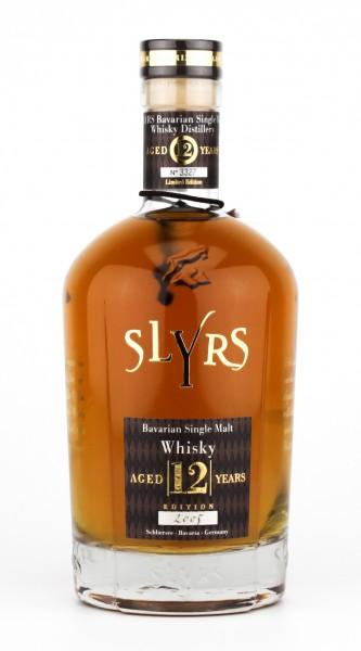 Slyrs Whisky 12 Jahre 43% 0,7L Jahrgang 2005 - abgefüllt 2017