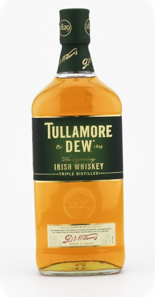 Tullamore Dew Irish Whiskey 40% 0,7 L