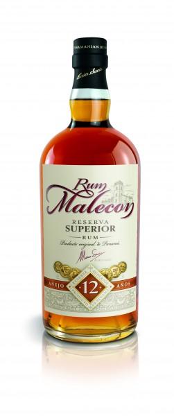 Malecon Rum 12 Jahre Reserva Superior 40% 0,7L