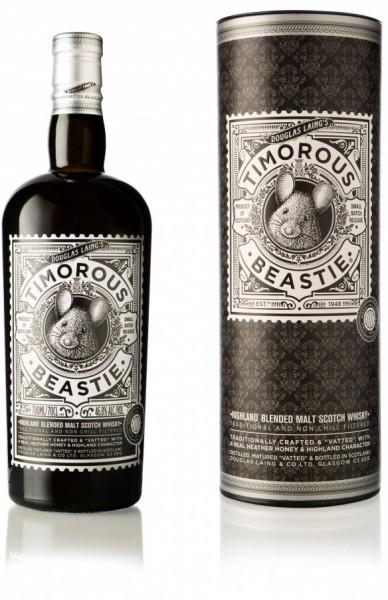 Timorous Beastie Highland Blended Malt Whisky 46,8% 0,7l