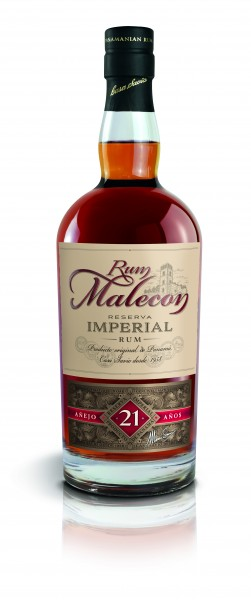 Malecon Rum 21 Jahre Reserva Imperial 40% 0,7l in HOLZBOX