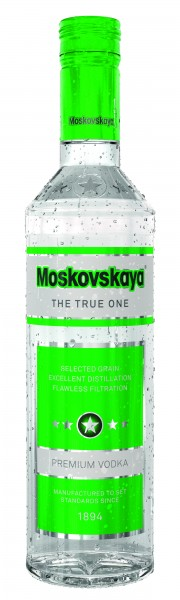 Moskovskaya 0,5 Liter 38% 0,5l