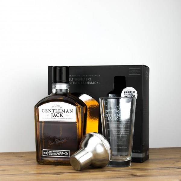 Jack Daniel's Gentleman Jack 40% 0,7L + Shakerglas