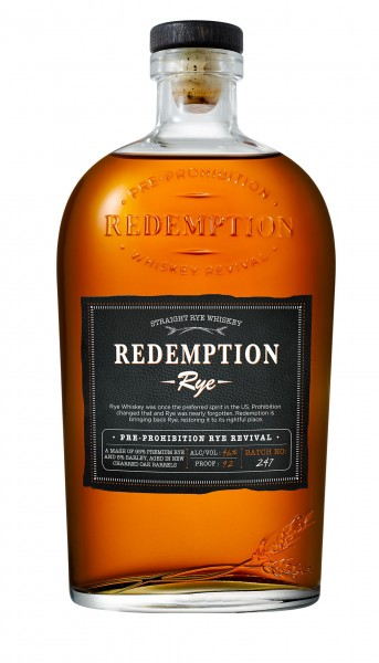 Redemption Straight Rye Whiskey 46.0% 0,7 L