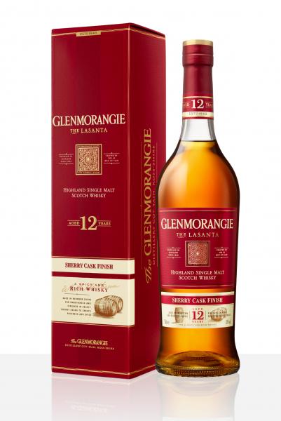 Glenmorangie Lasanta 12 Jahre 43% 0,7l