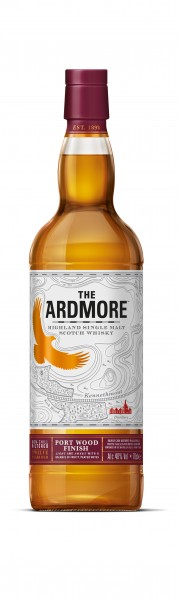 The Ardmore Portwood 12 years Speyside Malt Whisky 46% 0,7l