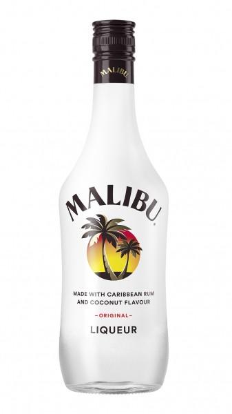 Malibu Original Likör Coconut (Rum Basis) 21% 0,7l