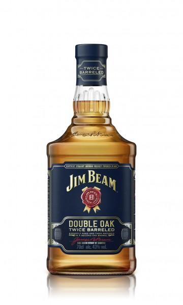 Jim Beam Double Oak Bourbon Whiskey 43% 0,7L