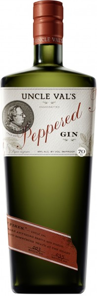 Uncle Val's Peppered Gin 45% 0,7 L