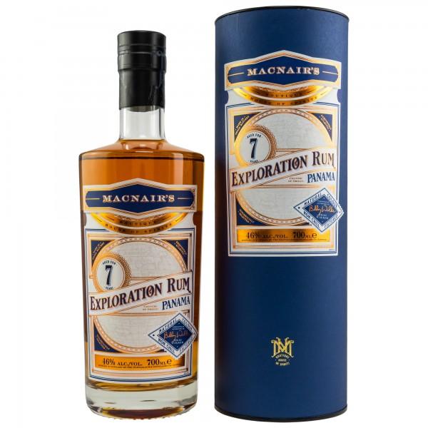 MacNairs Exploration Panama Rum 7 Jahre 0,7 L 46%