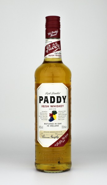 Paddy Irish Whiskey 40.0% 0,7 L