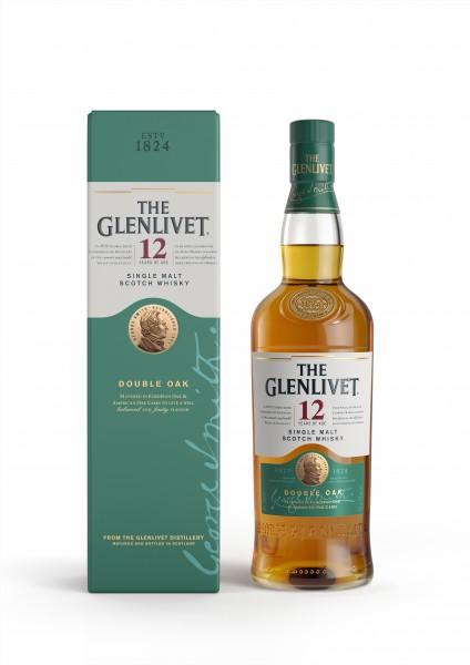 Glenlivet 12 Jahre Double Oak 40.0% 0,7l