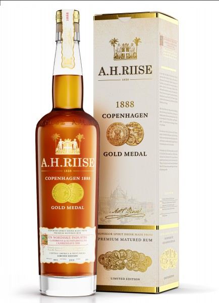 A.H. Riise 1888 Copenhagen Gold Medal Rum 40% 0,7l