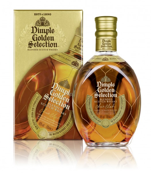 Dimple Golden Selection Whisky 40% 0,7l