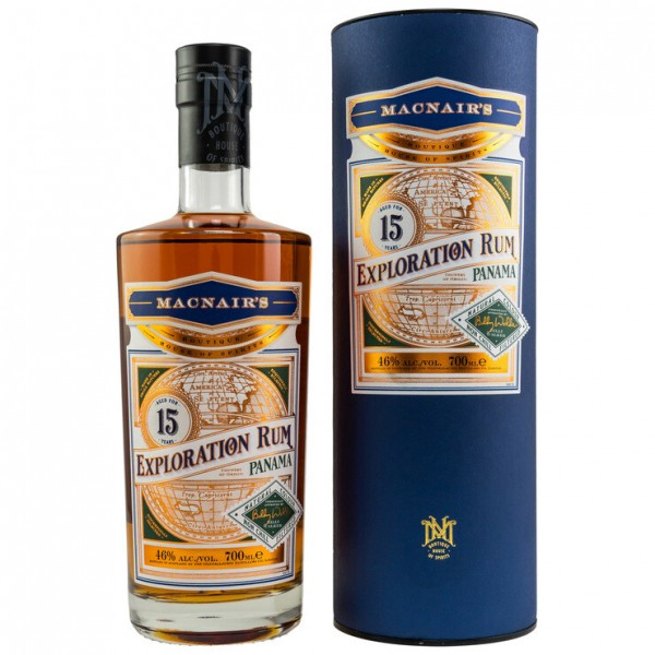 MacNairs Exploration Panama Rum 15 Jahre 0,7 L 46%