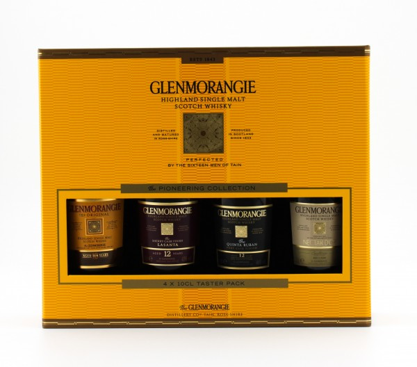 Glenmorangie The Tasting Set 40%, 43%, 46% 4x 0,1L