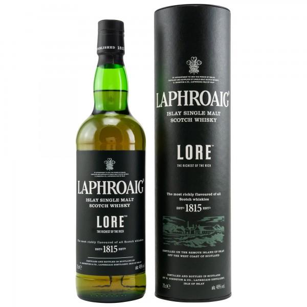 Laphroaig Lore Single Islay Malt Whisky 48% 0,7L