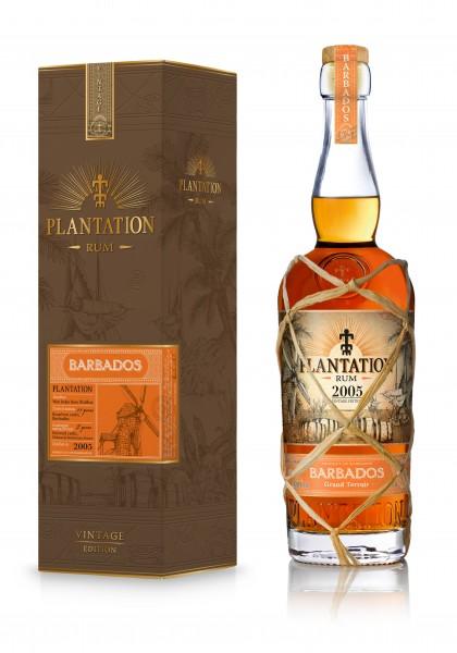 Plantation Rum Barbados Vintage 2005 42,8% 0,7L