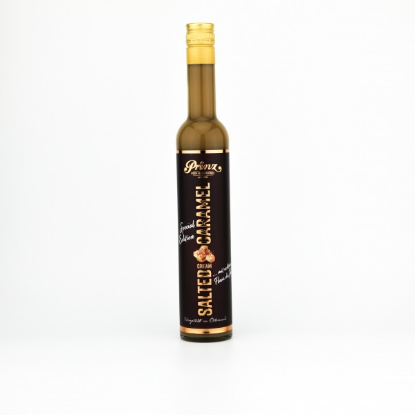 Prinz Salted-Caramel Cream-Likör 17% 0,5L