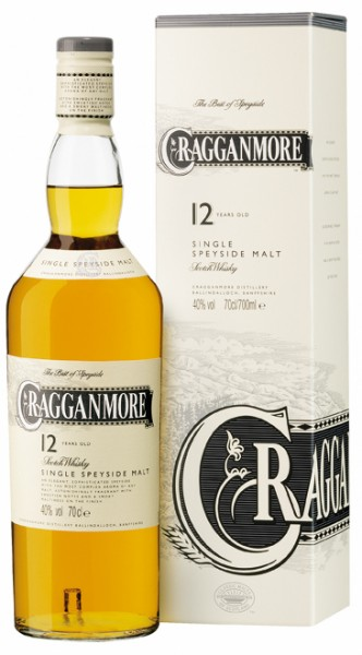 Cragganmore 12 Jahre Speyside Whisky 40% 0,7L