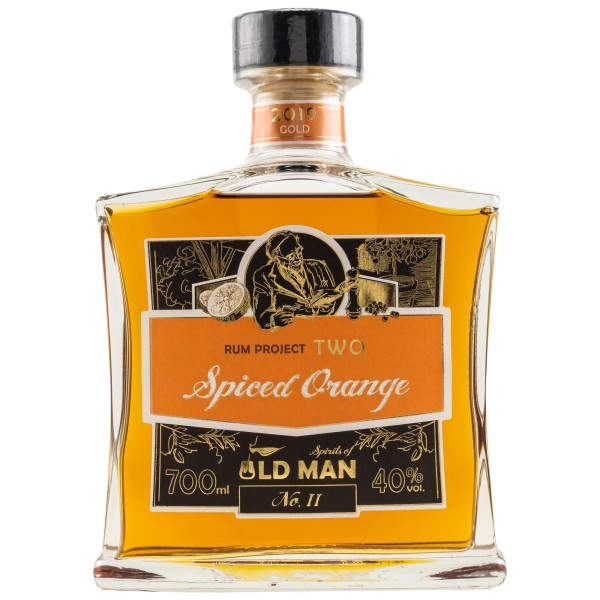 Spirits of Old Man Rum Project Two Spiced Orange 40% 0,7 L