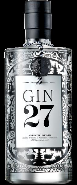 Gin 27 Premium Appenzeller Dry Gin 43% 0,7l