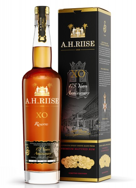 A.H. Riise XO Reserve 175 Jahre Anniversary Rum 42% 0,7l