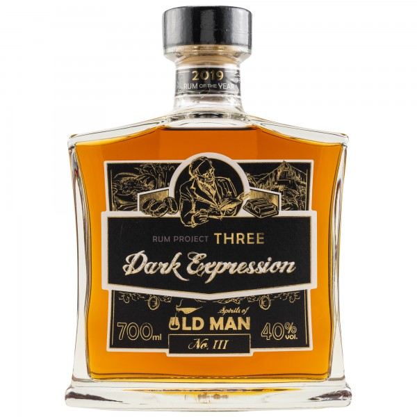 Spirits of Old Man Rum Project Three Dark Expression 40% 0,7 L