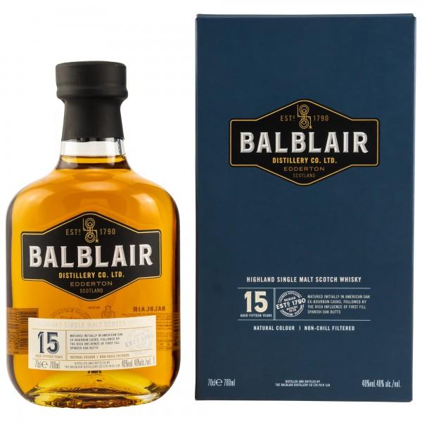 Balblair 15 Jahre 46% 0,7 L
