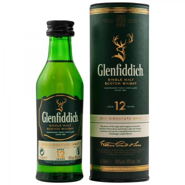 Glenfiddich 12 Jahre 40% 0,05 L