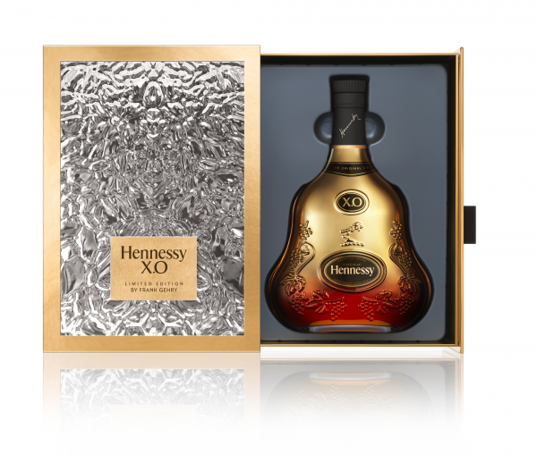 Hennessy XO Cognac 40% 0,7l FRANK GEHRY Limited Edition