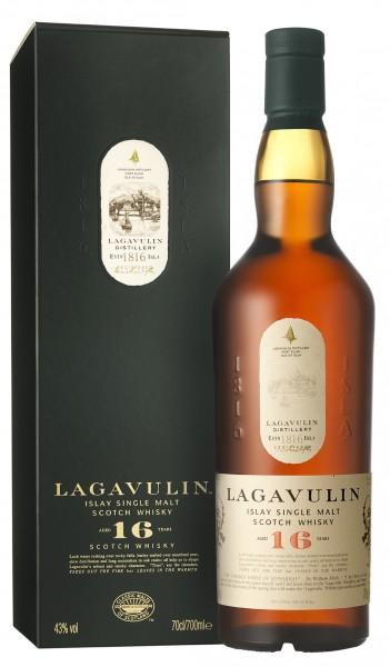 Lagavulin 16 Jahre Islay Whisky 43% 0,7l