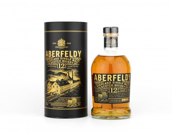 Aberfeldy 12 Jahre Highland Whisky 40% 0,7l
