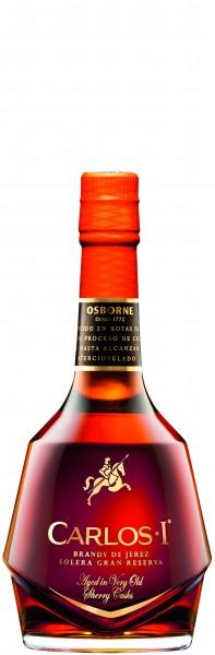 CARLOS I SOLERA GRAN RESERVA BRANDY 40% 0,7L