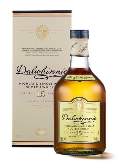 Dalwhinnie 15 Jahre Highland Whisky 43% 0,7L