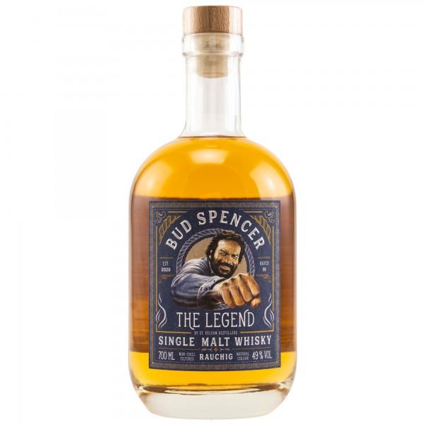 St.Kilian Bud Spencer The Legend Peated rauchig 49% 0,7L