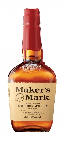 Makers Mark Red Seal Bourbon Whisky 45% 0,7 L