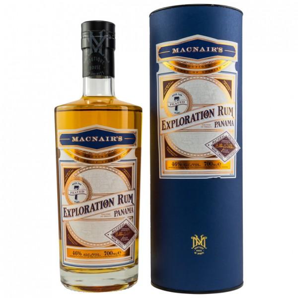 MacNairs Exploration Panama Rum 7 Jahre Peated 0,7 L 46%