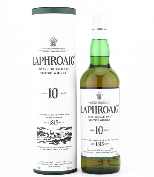 Laphroaig 10 Jahre Islay Whisky 40% 0,7 L