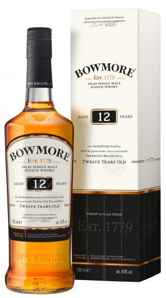 Bowmore 12 Jahre Islay Whisky 40% 0,7L